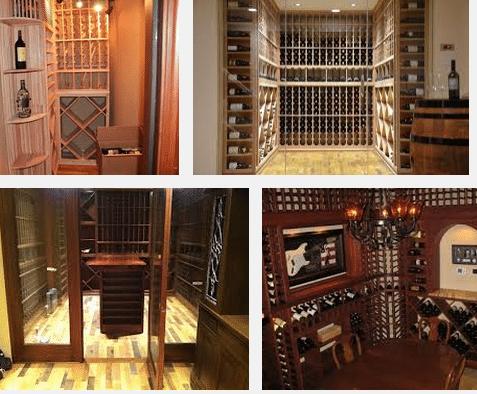 Residential Wine Racks by Coastal Custom Wine Racks