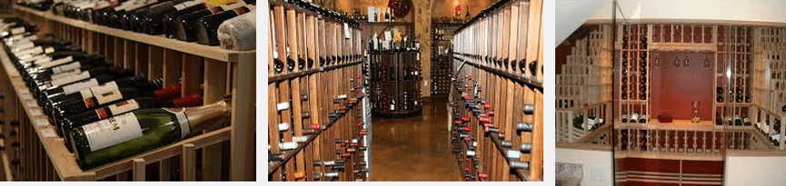 Residential and Commercial Wine Racks for Wine Storage