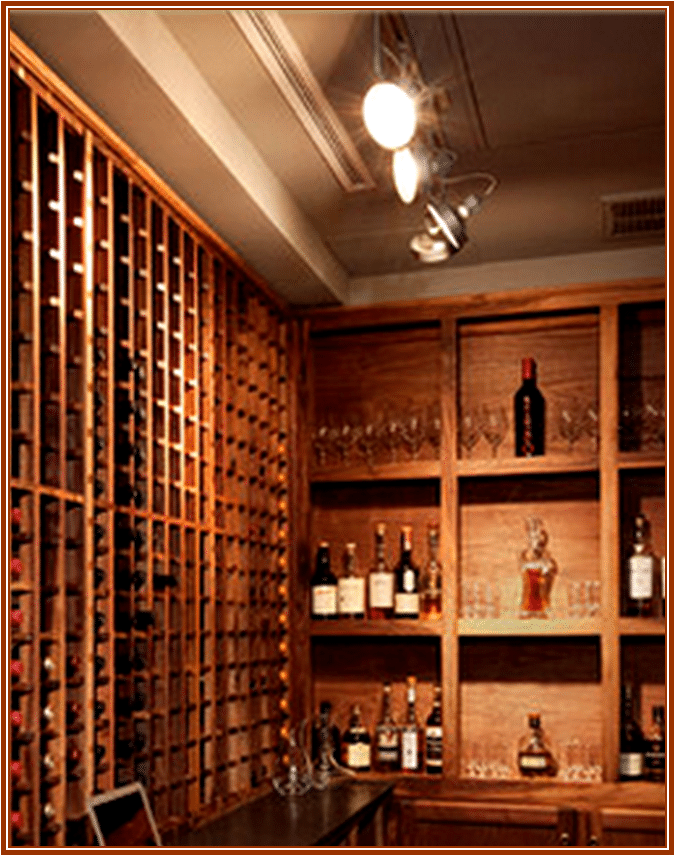 Wine Cellar Track Lighting & TRACK LIGHTING | Wooden Wine Racks