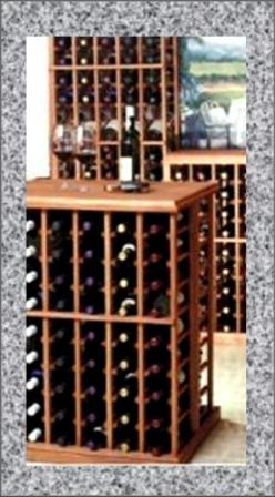 Table top wine rack wooden wine racks - Types of beautiful wine racks for your home ...
