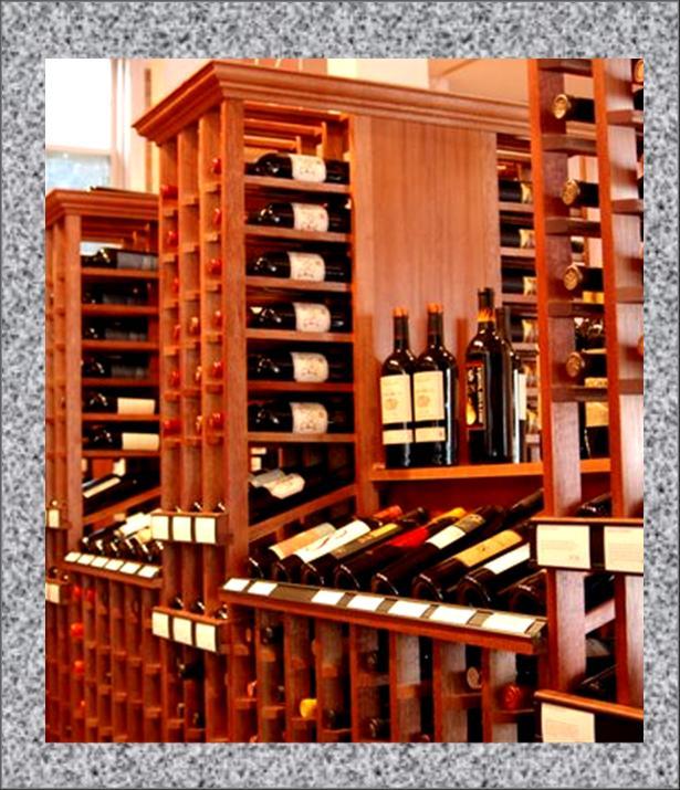 Wine racks wooden wine racks - Types of beautiful wine racks for your home ...