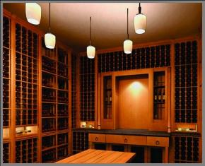 0 & Wine Racks u0026 Wine Cellar Lighting in California Residential Wine ...