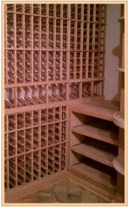 All Heart Redwood Wine Racks
