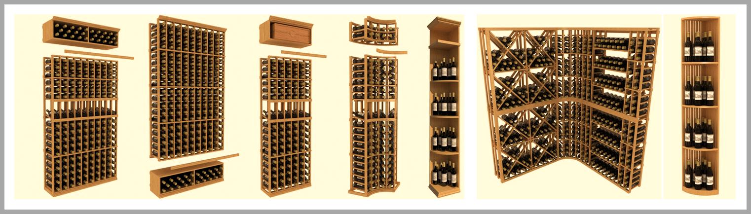 Wooden Wine Racks from Wine Cellar SPecialists