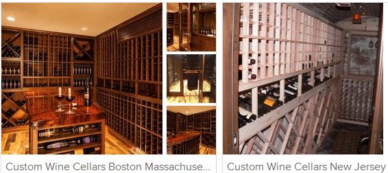 Wooden Wine Racks for Residential Wine Cellars