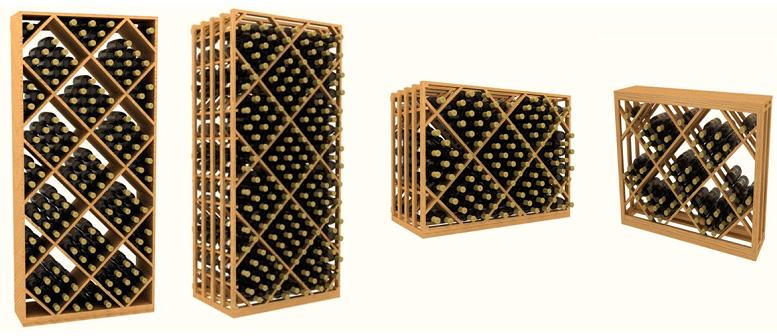 Commercial Wine Racks for Bulk Storage