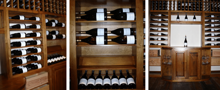 Wooden Wine Racks for Commercial Wine Storage