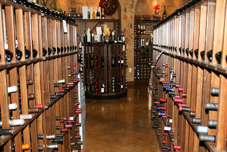 commercial wine racks for hospitality wine storage and display
