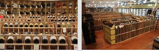 Hospitality Wine storage Using Wooden Wine Racks