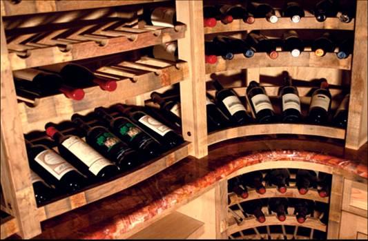 0 barrel wine cellar designs