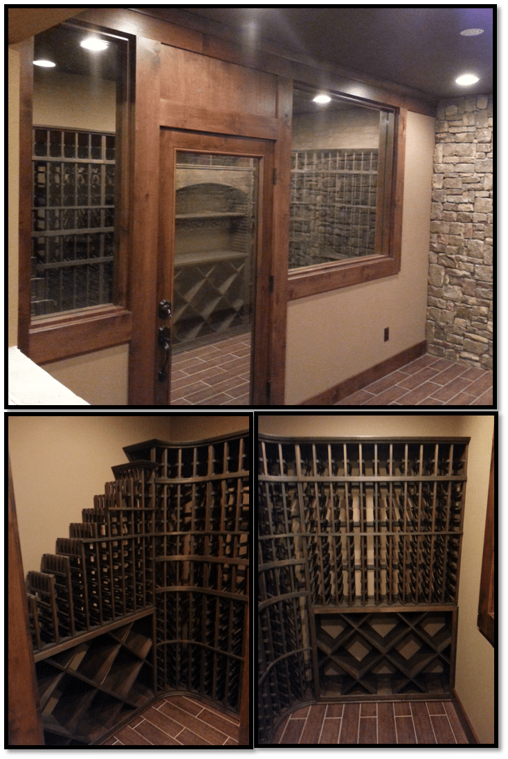 Philips completed wine cellar
