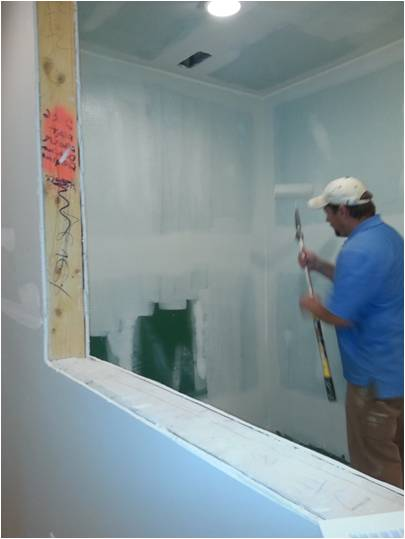 Philips contractor_Troy painting