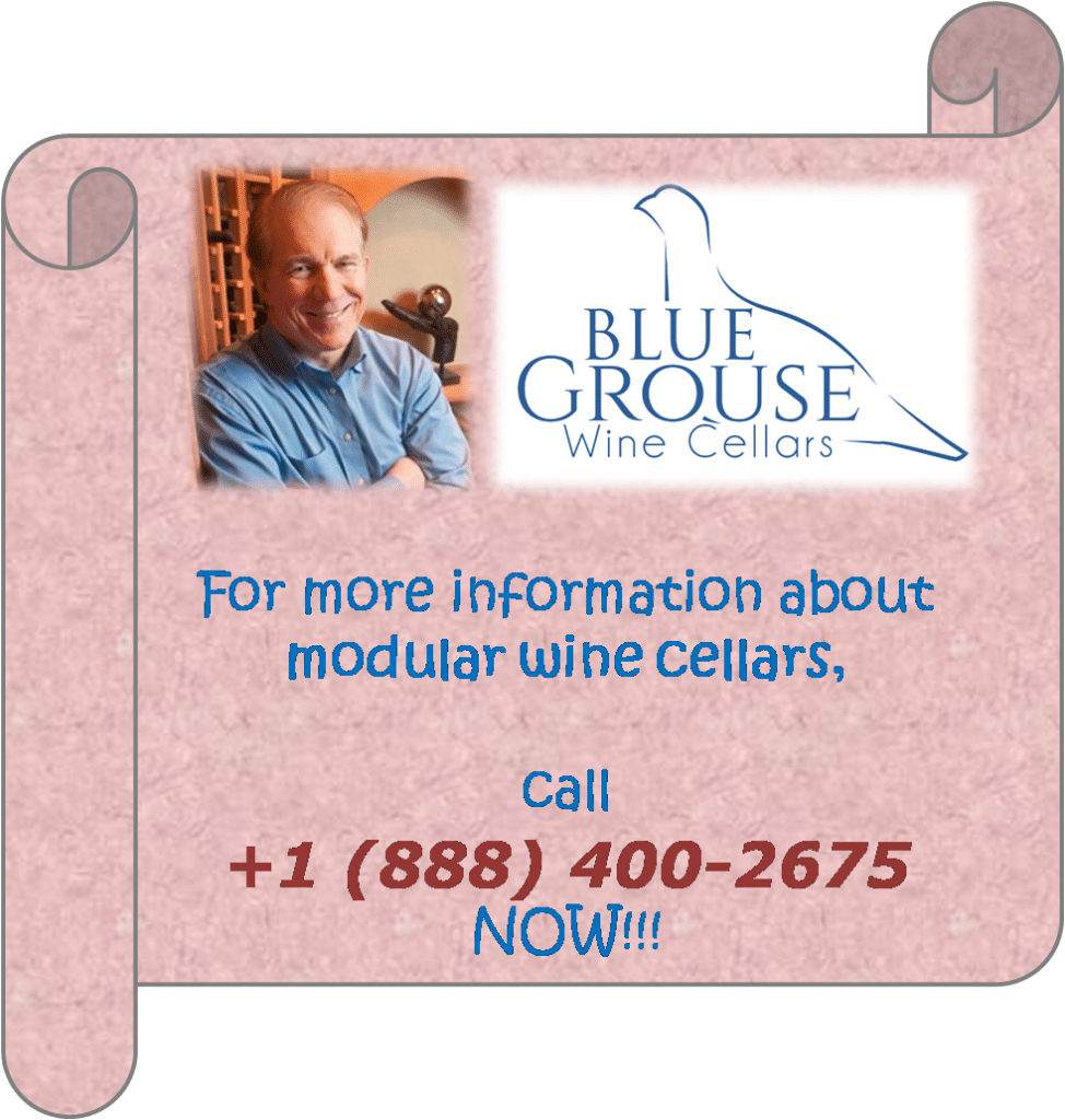 Blue Grouse Wine Cellars Canada master builder