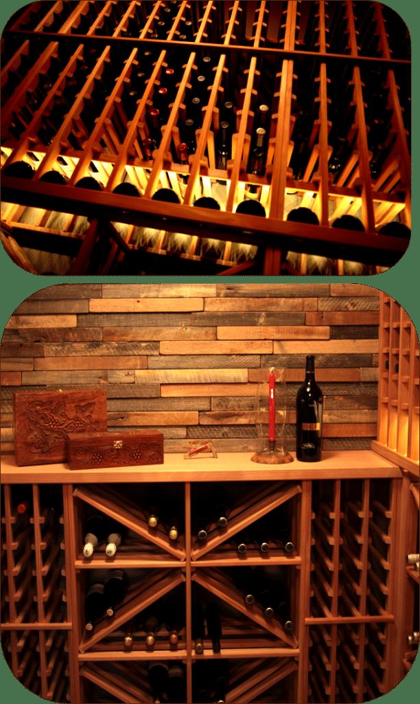 Vancouver modular wine rack design