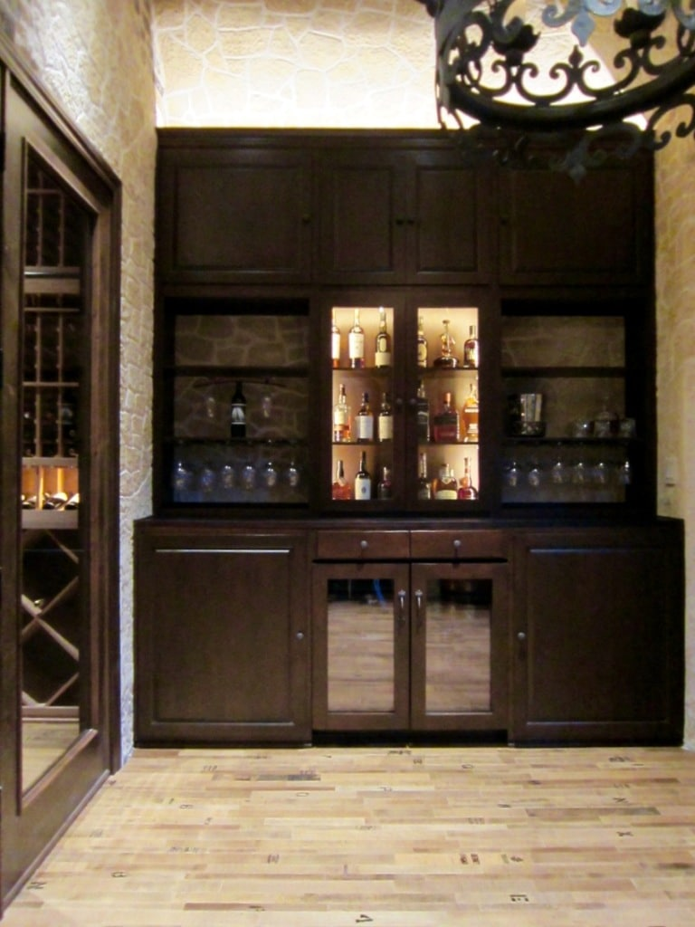 Wooden wine racks wooden wine rack information and resources for Home bar installation